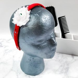 Other - Red Headband for Girls